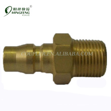 Japanese Type Male Guaranteed quality brass pneumatic fitting