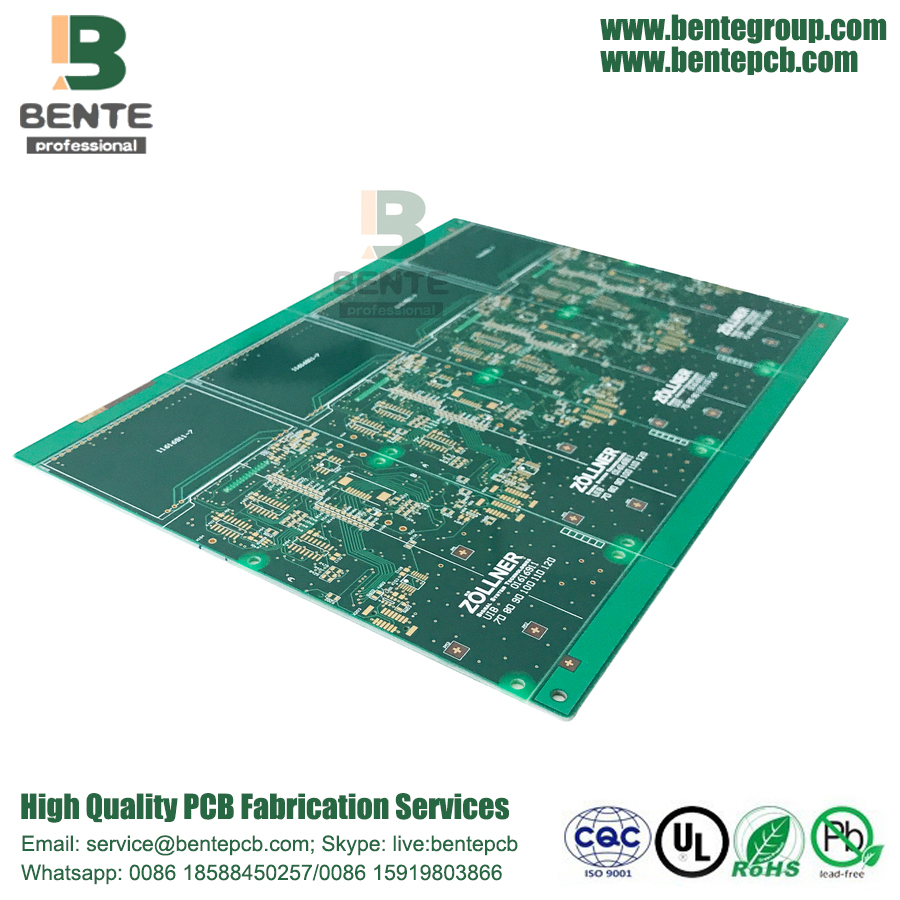 IPC Classe 3 ad alta precisione multilayer PCB 6Layers TG150