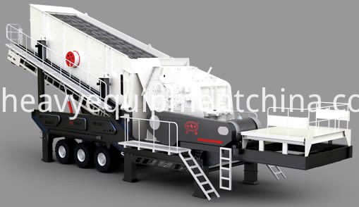 Mobile Impact Crusher Station