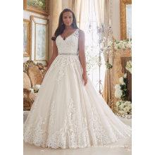 Линия Кружева Свадебные Платья Пром Свадебное Платье Свадебное Платье