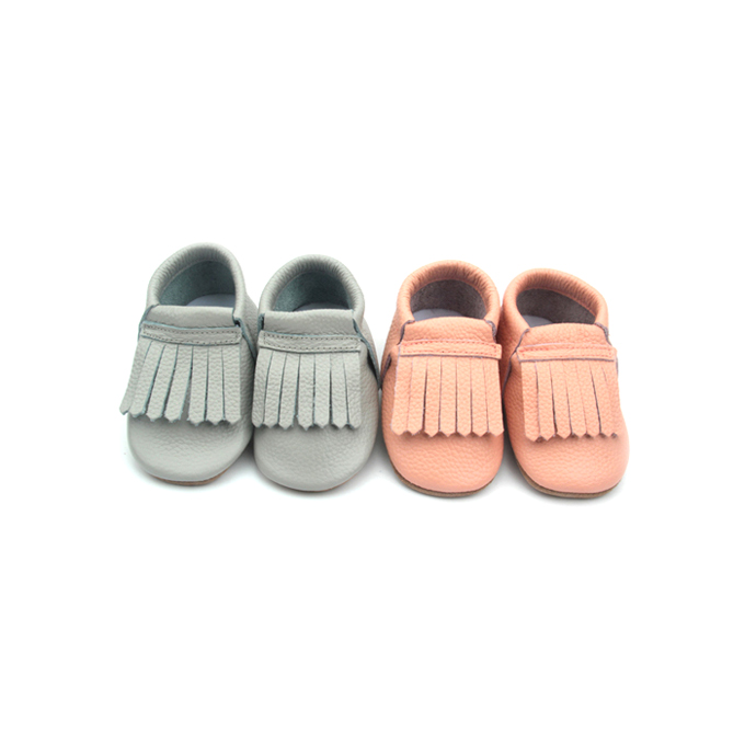Baby casual shoes moccasins soft leather