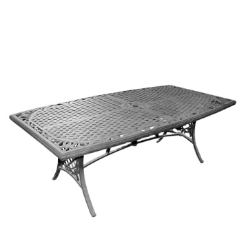 Cast aluminum tabletop Furniture components Low pressure die casting table base sand casting