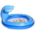 Piscinas inflables de spray ballena azul Water Fun