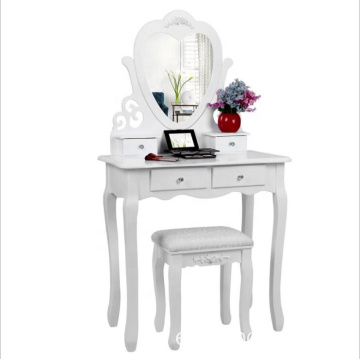 mirrored wooden dressing table designs