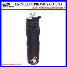 Promocional personalizada de acero inoxidable deportes botella de agua con boquilla de succión (EP-B58409)