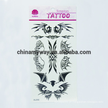 Etiqueta provisória do corpo impermeável Não-tóxico, etiqueta personalizada do tatuagem