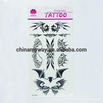 Nicht-toxischer wasserdichter Körper temporäre Aufkleber, individuelle Tattoo-Aufkleber
