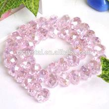 2016 wholesale decorative gem rondelle beads,rondelle beads,beads