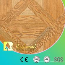 Piso laminado de madera grabada en relieve del roble del entarimado 12.3mm AC4
