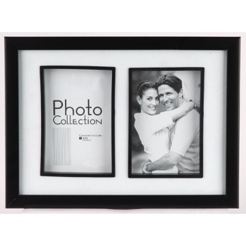 Two Opening Plastic Collage Frame
