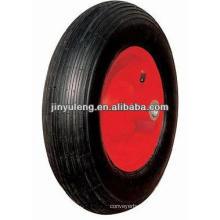 "16""x4.00-8 pneumatic rubber wheelbarrow tyre"
