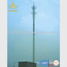 Varilla telescópica de antena de microondas