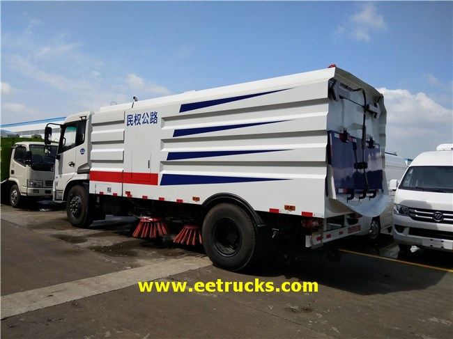 Dongfeng Road Sweeper Trucks