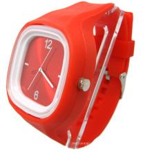 2013 le plus populaire personnalisé Lady femmes montres en silicone