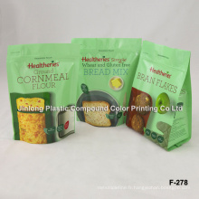 Stand up Food Bag for Biscuit
