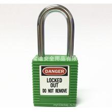Блокировка безопасности BAODI Стальной защитный замок BDS-S8601 Зеленая форма B