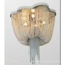 Lámpara de techo del Lobby de luz de techo de diseño de moda de cadena de Metal Link
