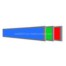 32W Dimmable RGB 5050 SMD LED Flat Panel de techo de luz 1200 * 200 (mm)