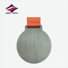 Antique color factory design personalizado material de liga de zinco medalha modelo
