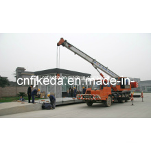 Engineers Install Truck Scale (60Ton, 3X18m)