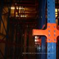 Accionamiento de cremallera de acero en sistema de estanterías