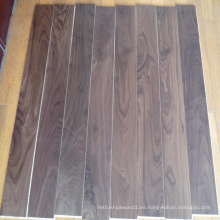 Lacado UV lacado suelo de madera de nogal americano