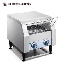 Heißer Verkaufs-Hochleistungskommerzieller Edelstahl-Förderer-elektrische einzigartige Brot-Sandwich-Toaster-Maschine