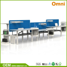 Popular Two Motors Three Stages Electric Height Adjustable Desk