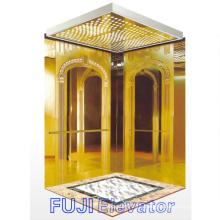 Elevador do passageiro (Titanium & decoração gravada para dentro)