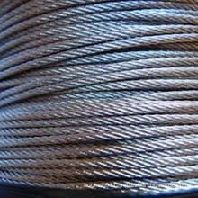 316 stainless steel wire rope 1x19 3.18mm
