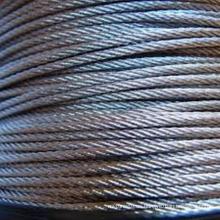 Cuerda de alambre de acero inoxidable para máquina / marina / pesca