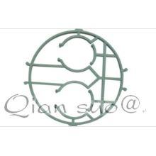 bordado accesorios estructura araña marco