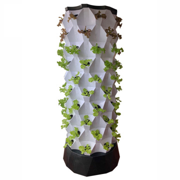 Strawberry Aeroponic Container Inicio Vertical Invernadero Planta de interior