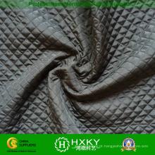 Ripstop Dobby acolchoado tecido de estofamento para jaquetas de moda