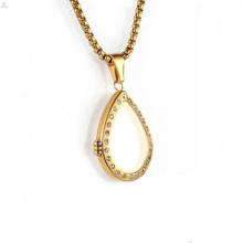 Золотые стекла для гостиной плавающей медальоны и прелести полые кулон ожерелье ювелирные изделия