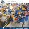 PLC Control High Speed Metal Sheet Cutting Cut à la longueur de la machine
