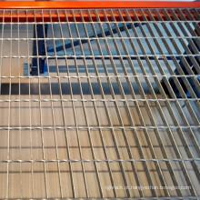 Painel de malha de aço galvanizado para piso de mezanino