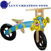 Bicicleta de equilibrio de madera para niños
