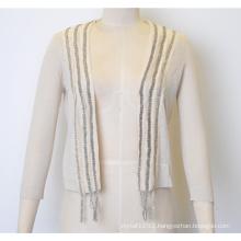 Spring Fit Knit Women Open Cardigan