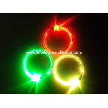 Acrylic led bracelet flashing hot sell 2017 for night party