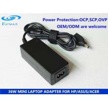 Adaptador YH-8000 36W Adaptador Mini Adaptador AC Adaptador para Notebook