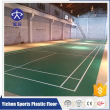 Piso de alta qualidade piso interior tapete de badminton