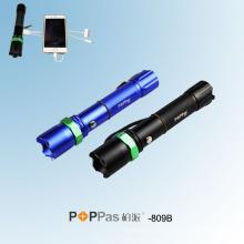 Lanterna elétrica do diodo emissor de luz da polícia do poder superior do banco da potência (POPPAS-809B)