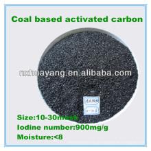 900 Jodzahl kohlebasierte granulierte Aktivkohle Hersteller
