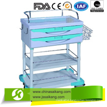 ABS Surgical Instrument Anesthesia Trolley