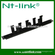 19 Inch 1U Metal Wire Network Cable Management