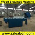 Broyeur de copeaux de bois de type horizontal à arbre frais