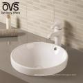 Lavabo redondo del cuenco del arte del cupc americano del cuarto de baño de cerámica