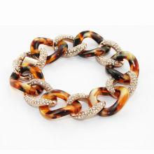 2014 fashion bracelet, plastic colorful high qulity women bracelet