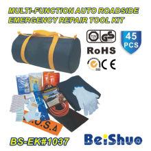 45PCS Roadside Vehicle Emergency Kit
